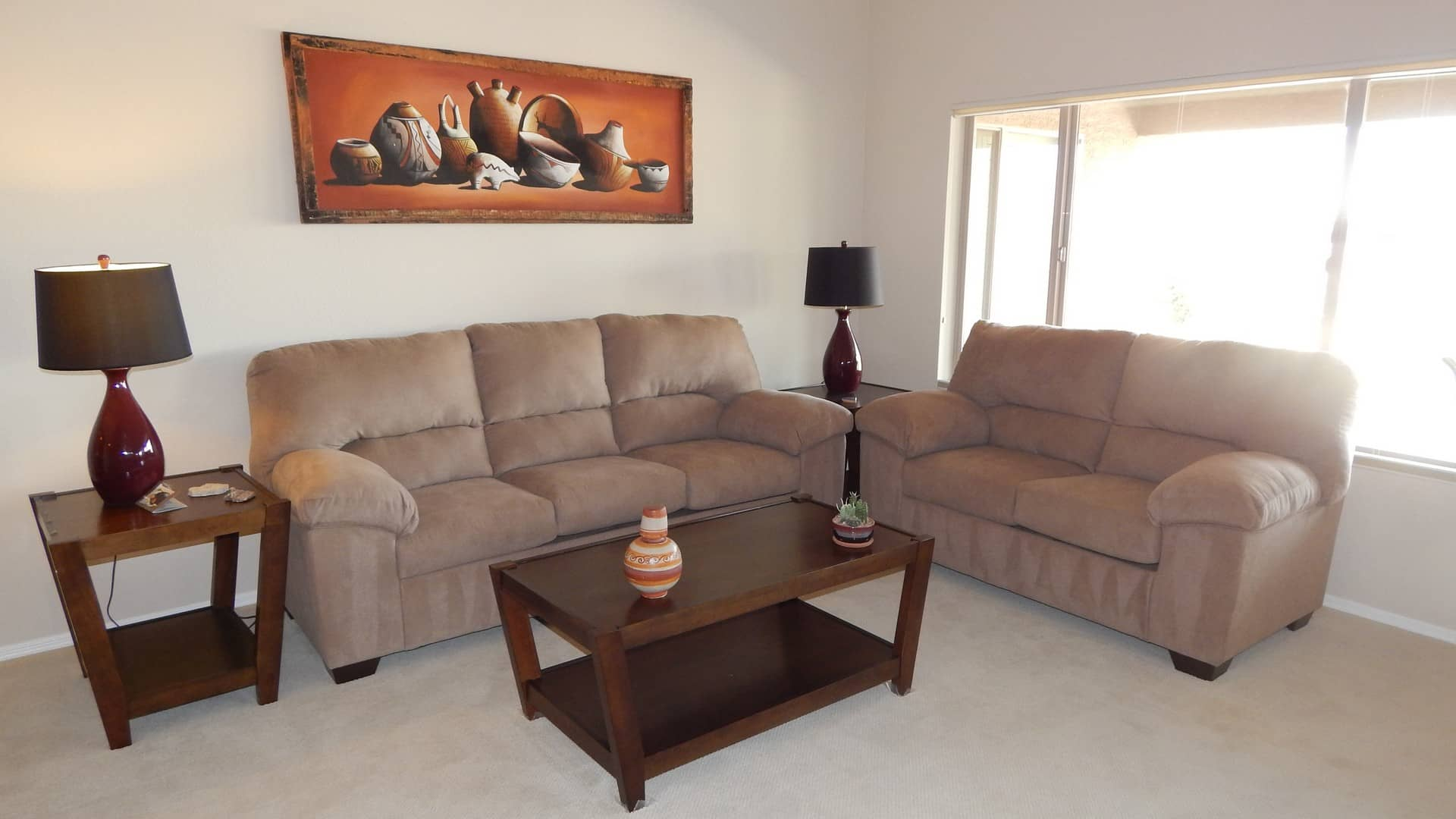 In november we added plantation shutters and i furnished with a sofa - 3500 Per Night
