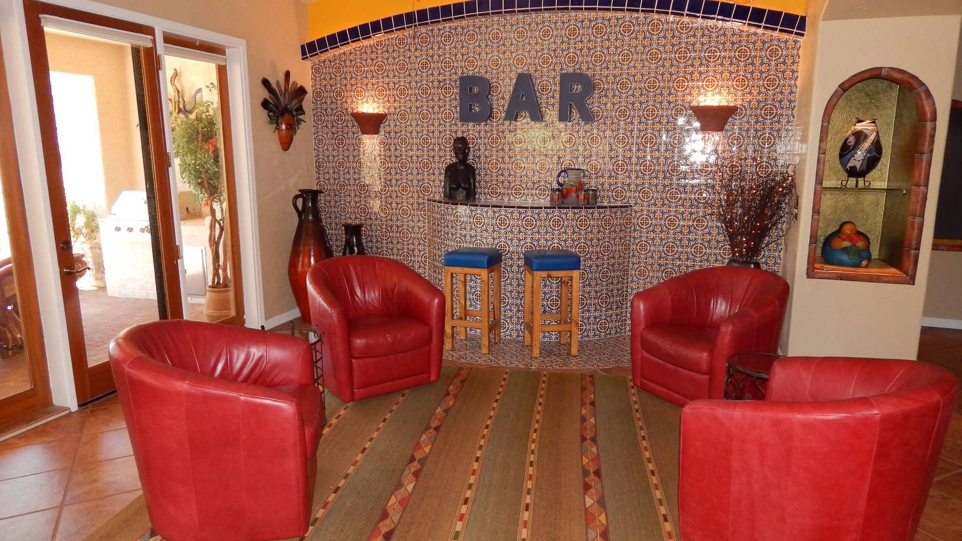 Great room - bar