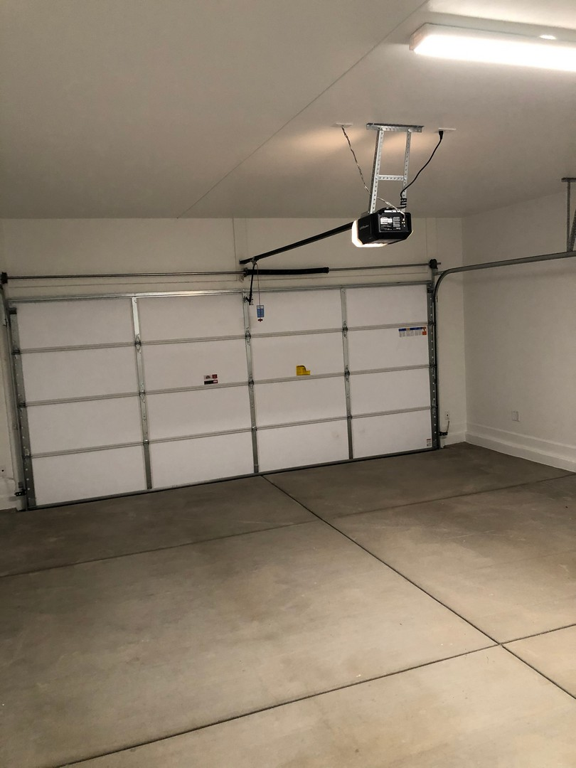 Spacious 2 Car Garage